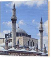 Mevlana Museum Konya - Turkey Wood Print