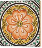 Mexican Tile Detail Wood Print