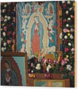 Mexico Our Lady Of Guadalupe Pilgrimage Wood Print