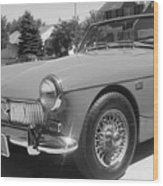 Mg Midget Wood Print