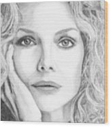 Michelle Pfeiffer Wood Print