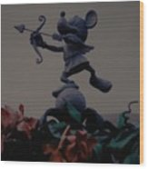 Mickey Mouse Wood Print