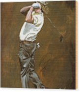 Miguel Angel Jimenez Wood Print