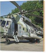 Mil Mi-17 Hip Wood Print