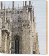 Milan Cathedra, Domm De Milan Is The Cathedral Church, Italy Wood Print