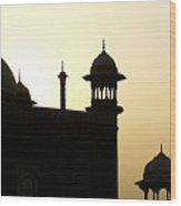 Minarets At Sunrise Wood Print