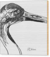 Miracle Bird Wood Print