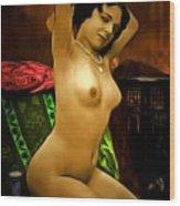 Miss Fernande  1910   Wood Print