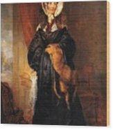 Miss Mary Kirkpatrick Brunton Wood Print