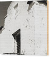 Mission Stucco Building Wood Print