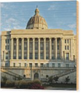 Missouri State Capital Wood Print