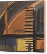 Modern Architecture 1 Wood Print