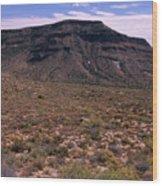 Mojave National Preserve Wood Print