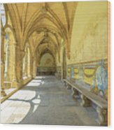 Monastery Of Santa Cruz Wood Print