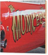 Monkeemobile Wood Print