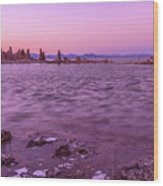 Mono Lake California Wood Print