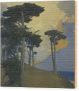 Monterey Cypress Wood Print