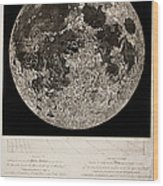 Moon Surface By John Russell Wood Print