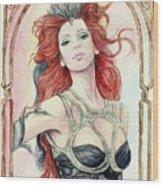 Morgan Of The Ravens Wood Print