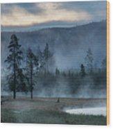 Morning Wood Print