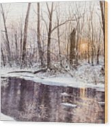 Morning On Monocacy Wood Print