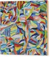 Morpheus Rising Wood Print