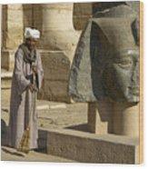 Mortuary Temple Of Rameses II Wood Print