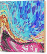 Mosaic #2 Wood Print