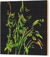 Motif Japonica No. 5 Wood Print