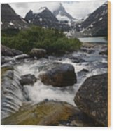 Mount Assiniboine Canada 17 Wood Print