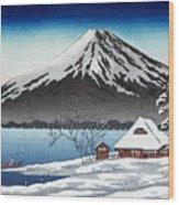 Mount Fuji Wood Print