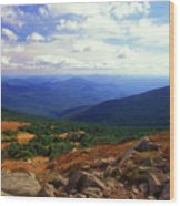 Mount Moosilauke Summit  Wood Print