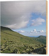 Mount Washington New Hampshire Usa Wood Print