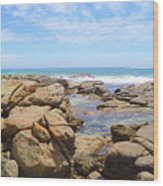 Mouth Of Margaret River Beach IIi Wood Print