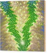 MoveOnArt Christmas 2009 Collection Victory Tree Wood Print