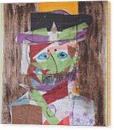 Mr Leopold Bloom Wood Print