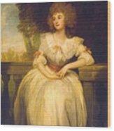 Mrs Mark Currie Wood Print