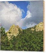 Mt. Lemmon Wood Print