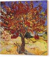 Mulberry Tree Wood Print