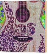 Music Is Life Wood Print