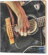 Musikant Wood Print