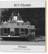 Mv Olympic Wood Print