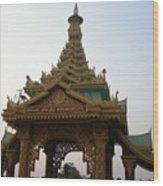 Myanmargate Wood Print
