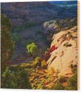Mystic Utah Wood Print