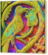Mythical Bird. Wood Print