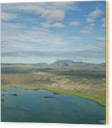 Beautiful Myvatn, Iceland Wood Print