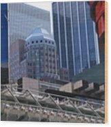 N Y C Architecture Wood Print