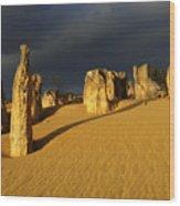 Nambung Desert Australia 1 Wood Print