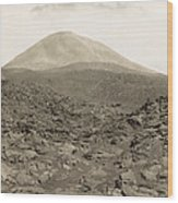 Naples: Mt. Vesuvius Wood Print