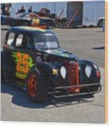 Nascar 25 Legends Car Wood Print